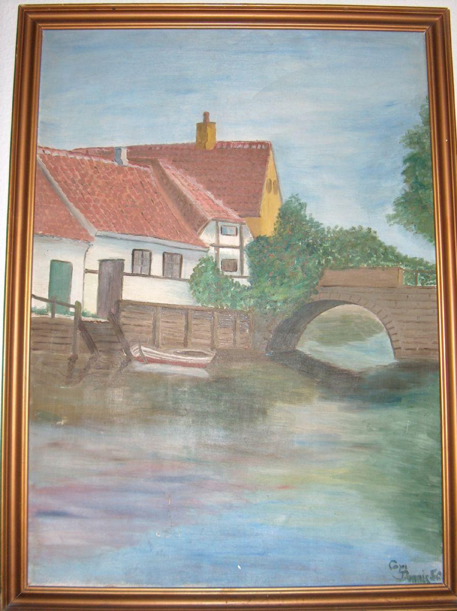 Billedet Min Far malede dette for 66 år siden.