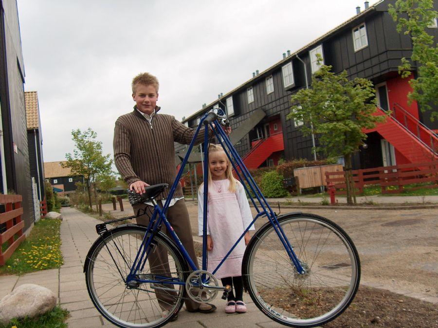 Billedet Mr.Pedersen cykel