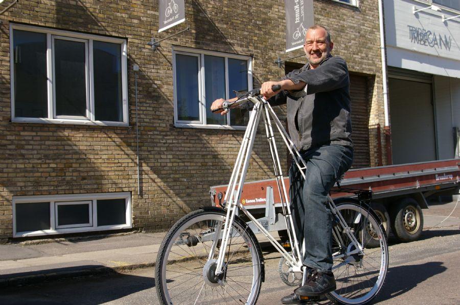 Billedet Mr. Pedersen cykel