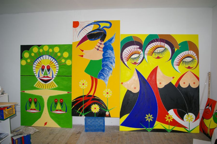 Billedet Titler på malerier