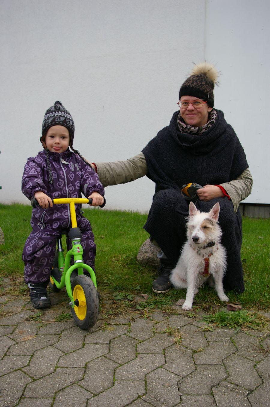 Billedet Villads,Balder og Janne 2014.