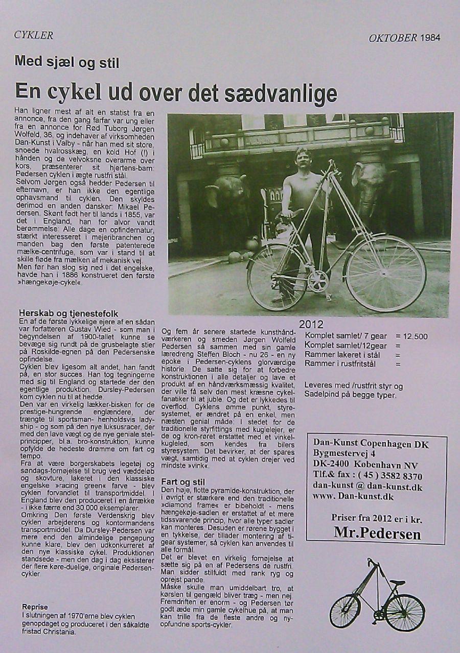 Billedet Mr.Pedersen historie fra 32 år siden.
