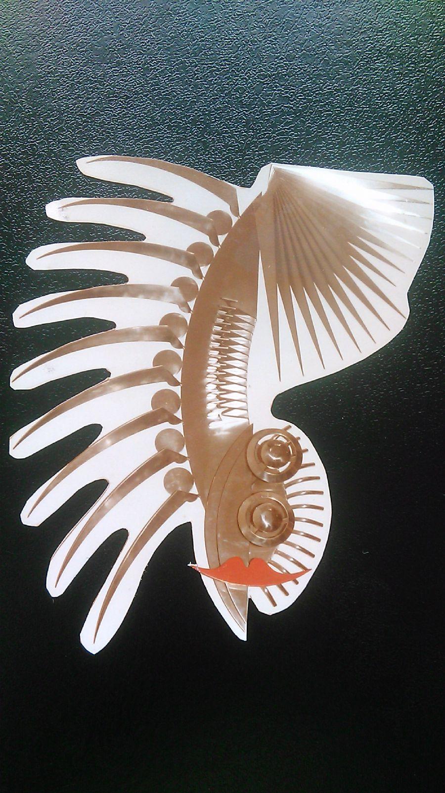 Billedet Feminin skorpion i rustfrit stål