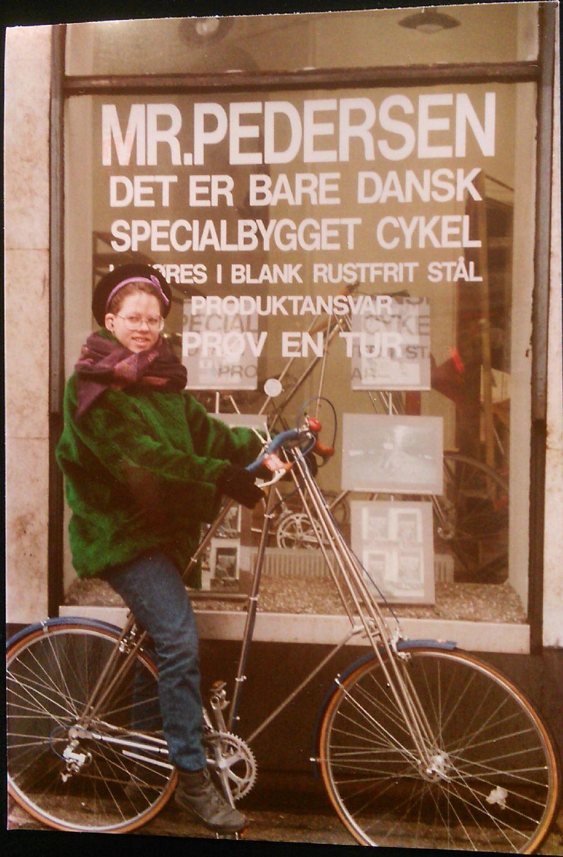Billedet Mr. Pedersen cyklen