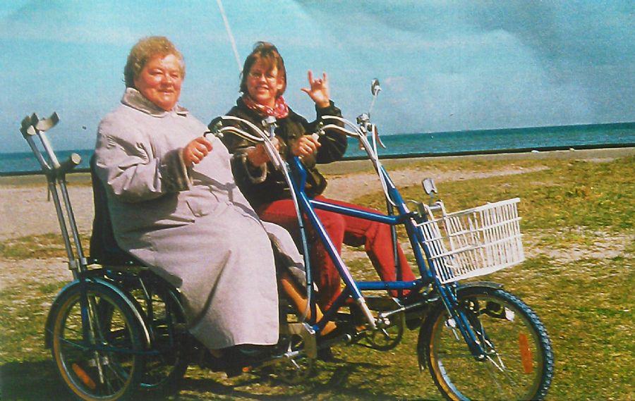 Billedet Amager strand for 25 år siden.
