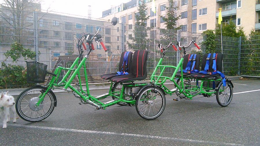Billedet Juletilbud på Parallelcykel til 4 person