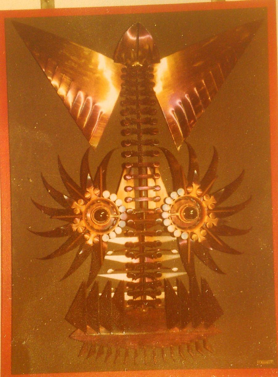 Billedet Stål skorpionmaske