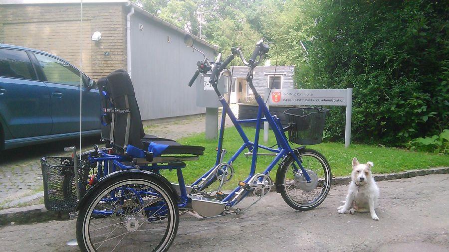 Billedet Parallelcykel til Glostrup.
