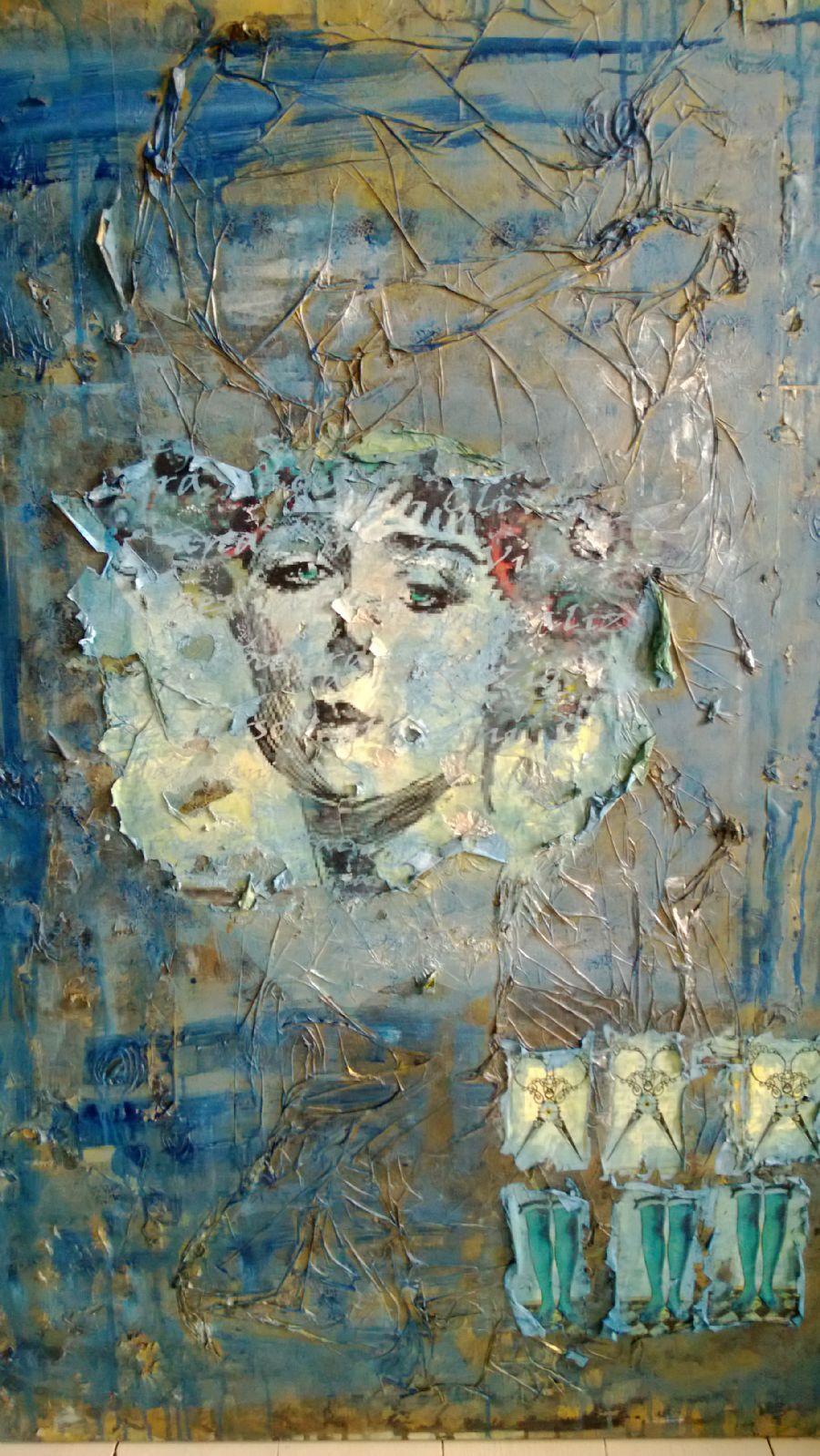 blue woman 2012
