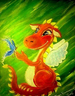 My Sweet Dragon whit a big heart
