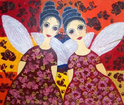 Rosebud angels