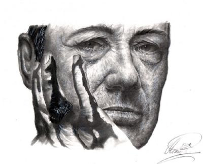 Frank Underwood; Kevin Spacey drawing by