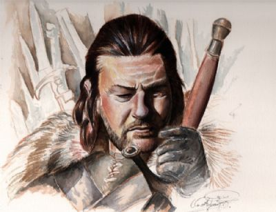 Sean Bean in Game of Thrones. By; Ole M.