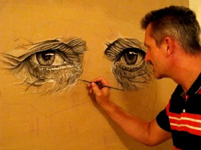 The artist at work.....:)