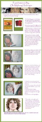 Pastel portrait drawing tutorial by Ole