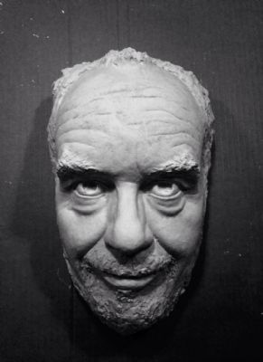 Plaster mask of my sculptur