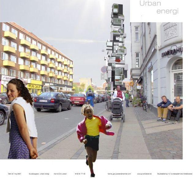 Urban energi på Nørrebro, studieprojekt