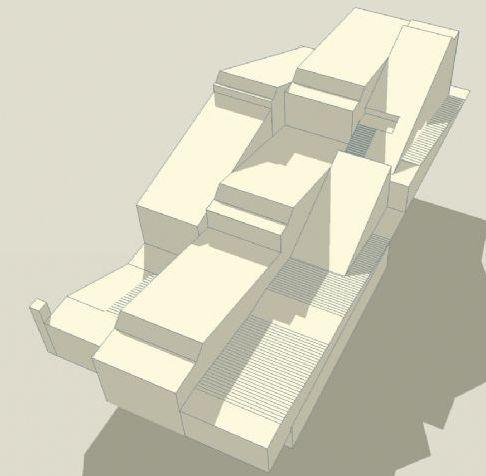 Bebyggelsesstruktur, Næstved Havn, studi