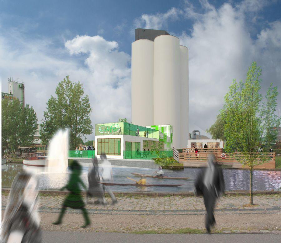 Forslag til café Næstved Havn