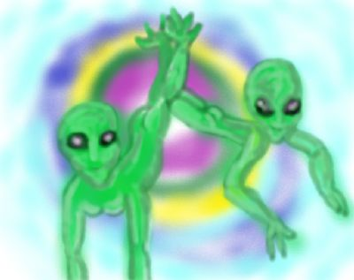 Aliens in love