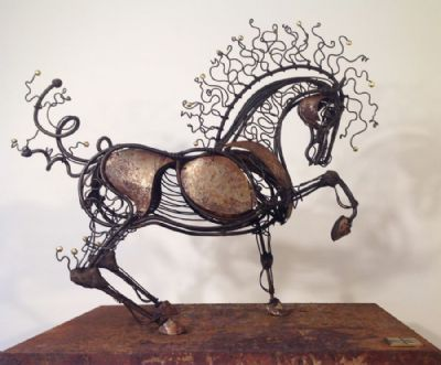 Iron Fairytale Horse