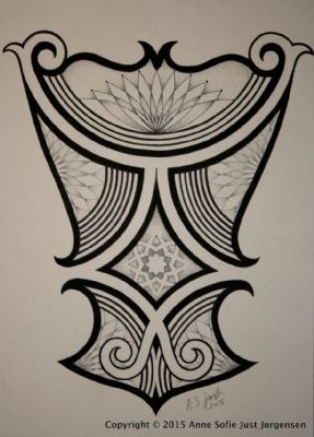 Semi maori/mandala inspired back piece