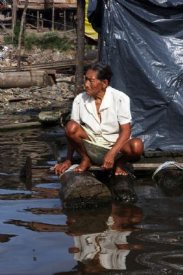 Life reflections at amazon, Iquitos, Per