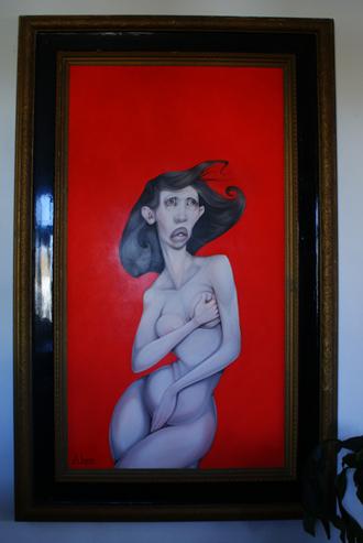 Exposed, olie på lærred,  87 x 162 cm